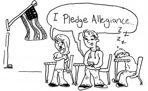 cartoon by Tyler Monson