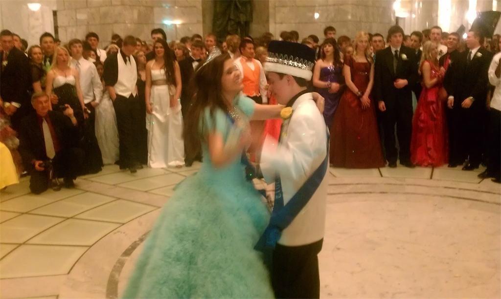 Last year's prom