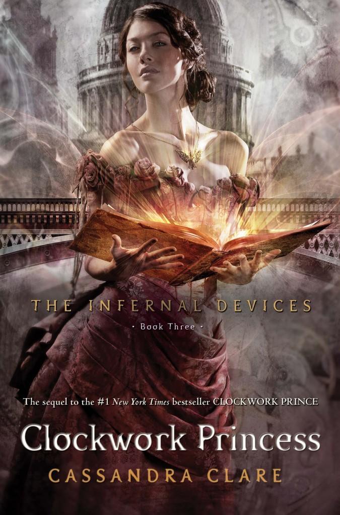 The Clockwork Princess book cover