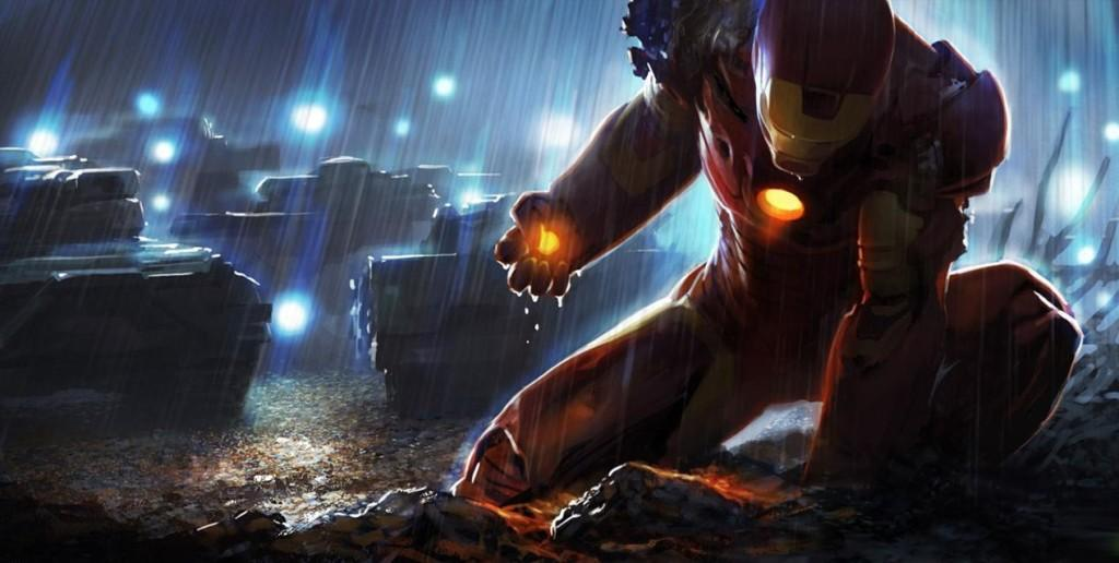 Iron Man is an excellent example of the change in character of current superheroes