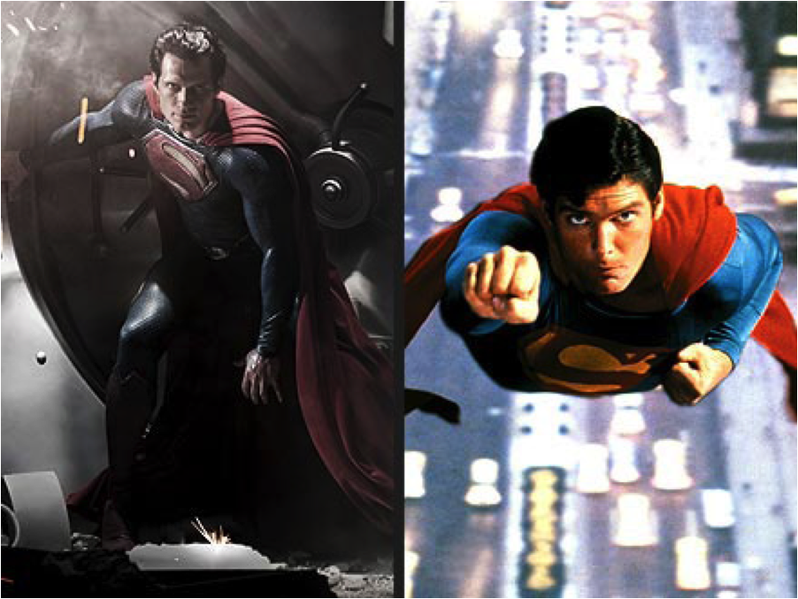 Superman has been redone twelve times.
