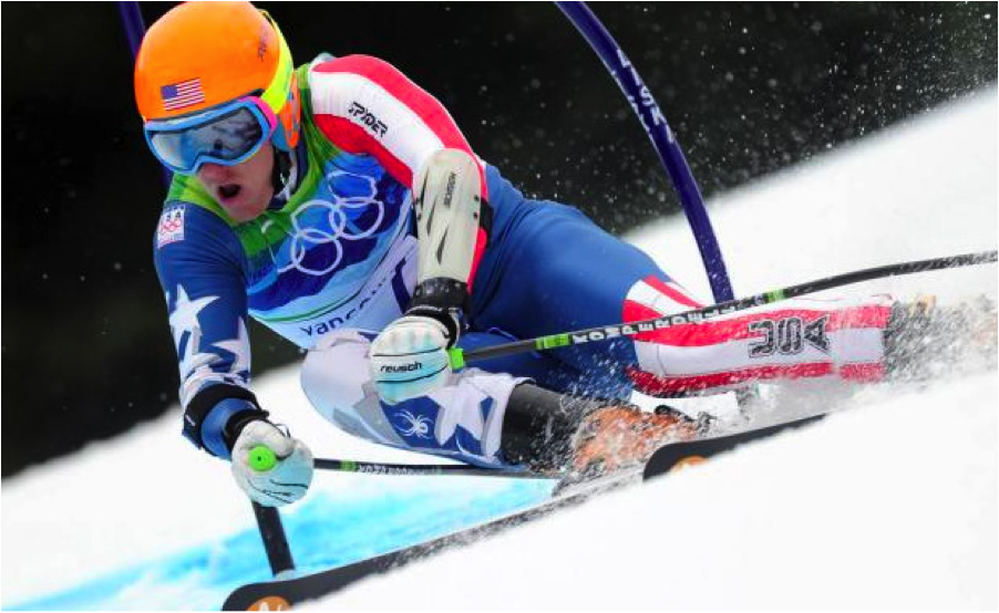 Ted Liggety became the first American male to win two olympic gold medals in Alpine skiing.