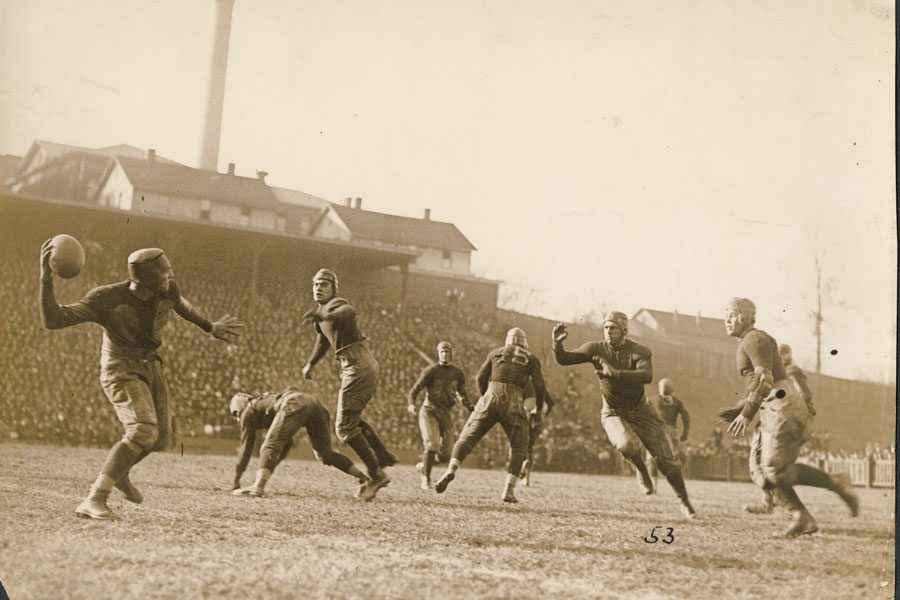 Georgia Tech Auburn football game, Thanksgiving 1921