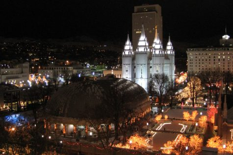 Starlight Temple Square Night