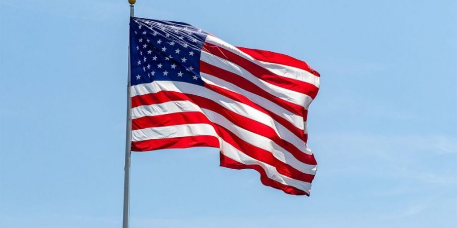 Our symbolic American Flag.