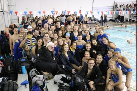 Bingham's swim team