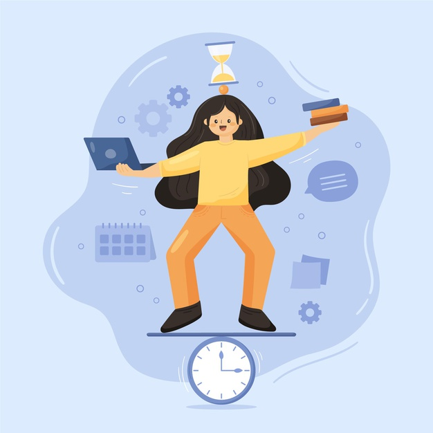 Balancing time with time management skills