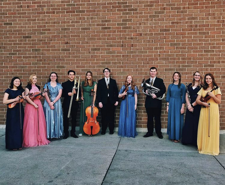 Bingham Symphony, the musicians who braved the stage