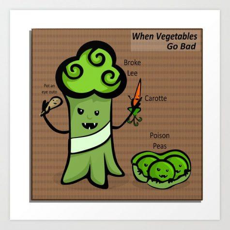 Evil Veggies! Gross and Green!