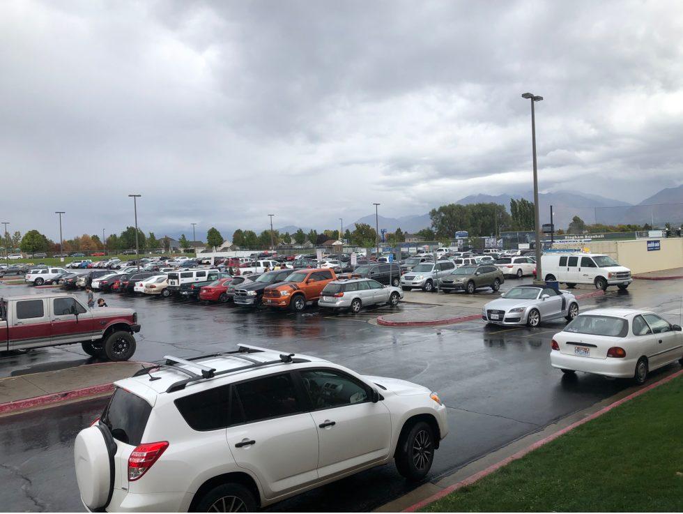 Bingham parking lot